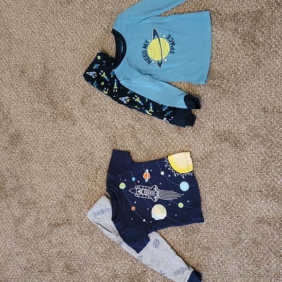 Boys space pajamas